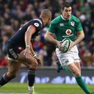 Ireland's Johnny Sexton, right, kicked 11 points for Ireland