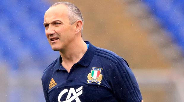 Italy head coach Conor O'Shea says his team have earned the right to play the best