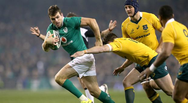Jared Payne is back in the Ireland squad for the final two Six Nations matches of 2017