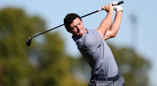 Rory McIlroy storms into the lead after a sparkling round of 65