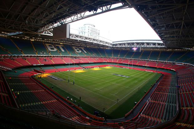 30bf7dc9ae Millennium Stadium is a complete sell-out for Friday s match between Wales  and Ireland