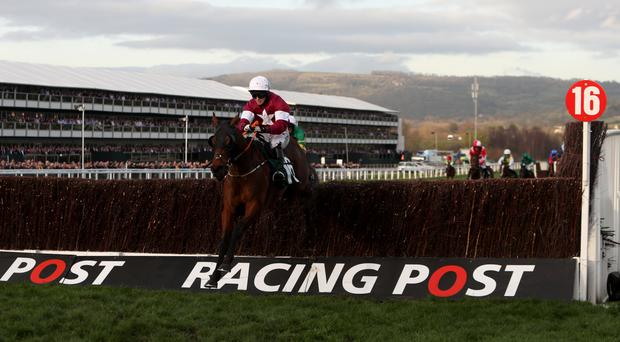 Tiger Roll is well clear in the four-miler