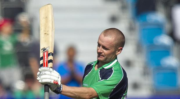William Porterfield scored a century but Ireland still lost to Afghanistan