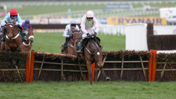 Ruby Walsh on Yorkhill - I think he'll win the JLT