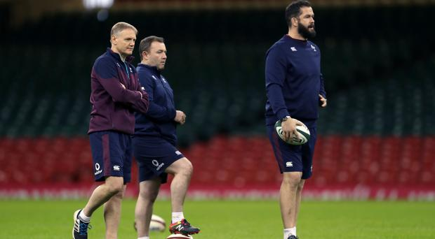 Andy Farrell, right, has been backed to ignore any family ties when coaching Ireland against son and England star Owen on Saturday