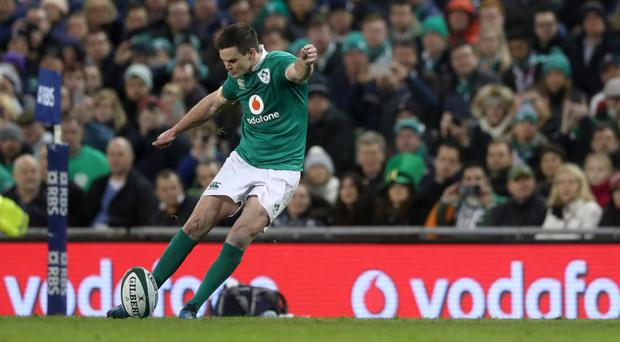 Ireland's Johnny Sexton was key in the defeat of England at Dublin's Aviva Stadium
