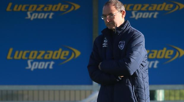 Republic of Ireland manager Martin O'Neill has selection problems ahead of Friday's World Cup qualifier