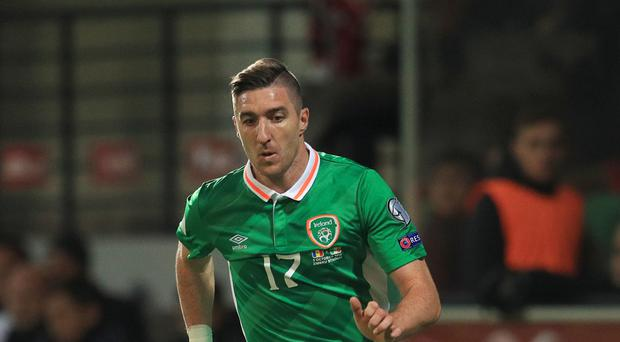 Stephen Ward (pictured) has challenged the Republic of Ireland to pile pressure on Wales