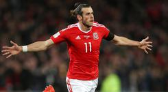 Wales international Gareth Bale. Photo: PA