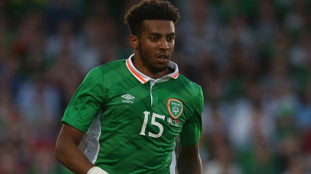 Republic of Ireland full-back Cyrus Christie. Photo: PA