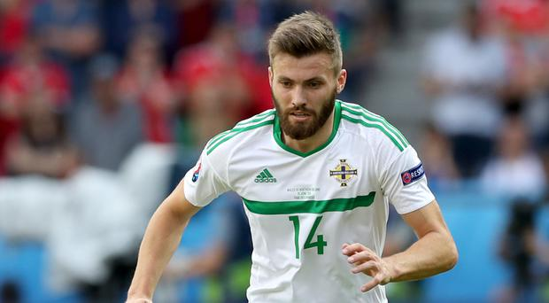 Windsor Park has proved a happy hunting ground for Stuart Dallas