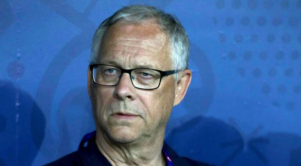 Lars Lagerback has never lost to England, though it is Northern Ireland that is occupying his thoughts this weekend