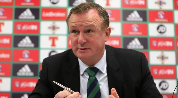 Michael O'Neill believes Russia will come into view if Northern Ireland win on Sunday