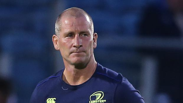 Stuart Lancaster, pictured, says Leinster will carefully manage Johnny Sexton ahead of the Lions' tour