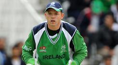 Niall O'Brien and Ireland endured a tough day