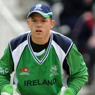 Niall O'Brien and Ireland endured a tough opening day at Greater Noida