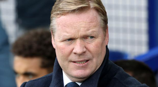 Everton boss Ronald Koeman, pictured, says Seamus Coleman is