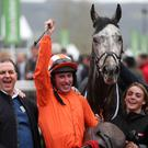 The Labaik team following his Supreme success