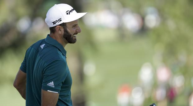 Dustin Johnson will start in the day's final group (AP)