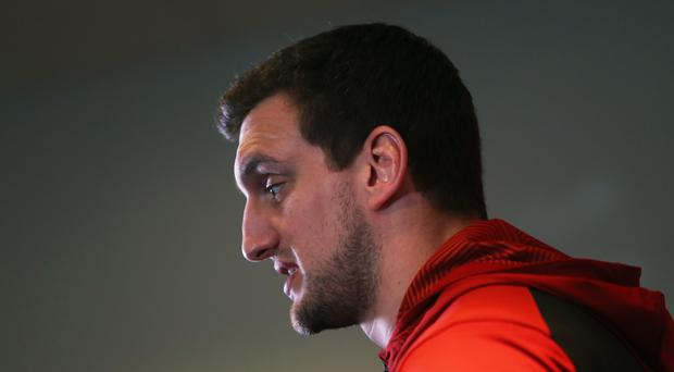 Sam Warburton grabbed one of Cardiff's tries