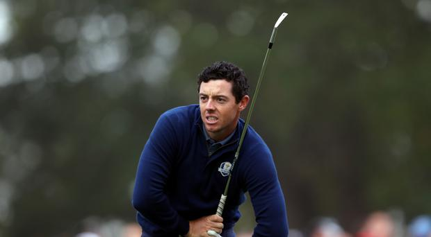 Rory McIlroy is targeting a low third round in the Masters