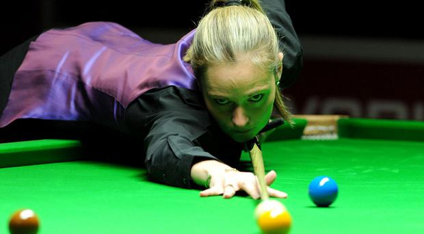 First female at snooker World Championship wait continues