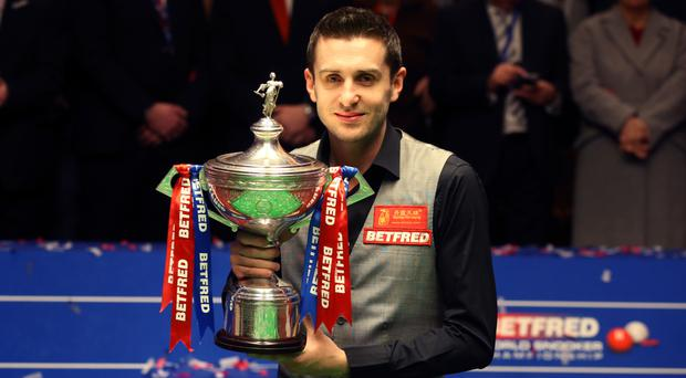 Mark Selby won his second world title last year