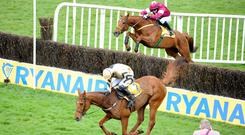 Yorkhill is awkward at the last, with Road To Respect in pursuit