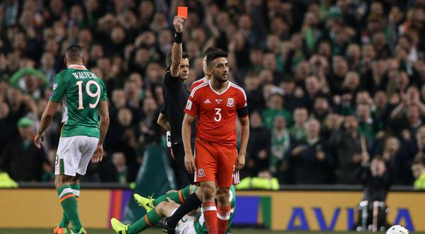 Wales defender Taylor banned for 2 games for harsh tackle