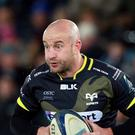 Brendon Leonard was among Ospreys' try-scorers against Ulster