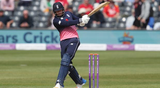 England's Jonny Bairstow continued his recent good form against Ireland