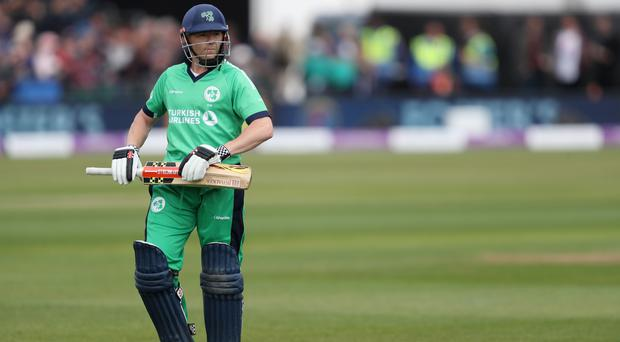 Niall O'Brien's century was in vain