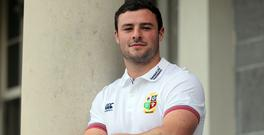 Robbie Henshaw, pictured, has tapped into Brian O'Driscoll's British and Irish Lions knowledge
