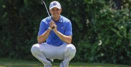Jordan Spieth endured an inconsistent first round (AP)