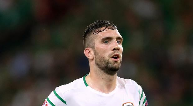 Shane Duffy is hoping to return to action for the Republic of Ireland against Mexico