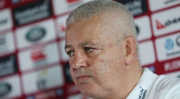 Warren Gatland wants the British and Irish Lions to shock the New Zealand public