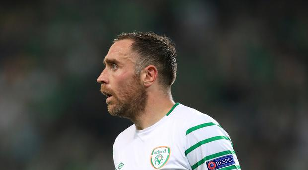 Republic of Ireland's Richard Keogh
