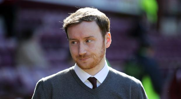 Ian Cathro, pictured, has the support of Aaron Hughes