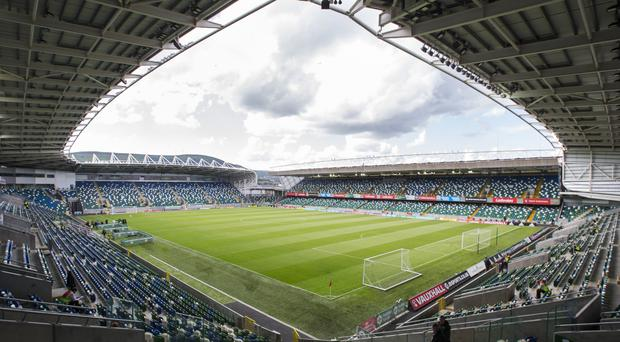 Windsor Park in Belfast could stage the 2019 Super Cup