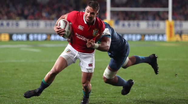 Rhys Webb, pictured, accepts the Lions will have their work cut out to contain Sonny Bill Williams in the fast-approaching Tests