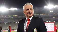 Warren Gatland insists he is yet to even think about his Lions line-up for the three-Test New Zealand series