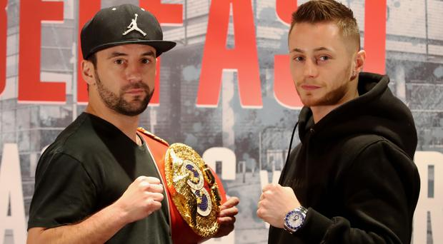 Ryan Burnett, pictured right, is challenging Lee Haskins for the IBF bantamweight title