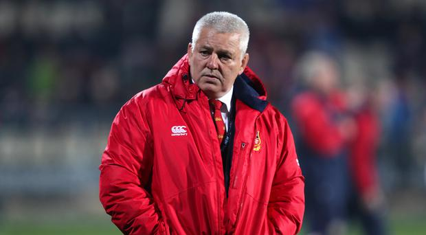 Warren Gatland was pleased with the Lions' victory