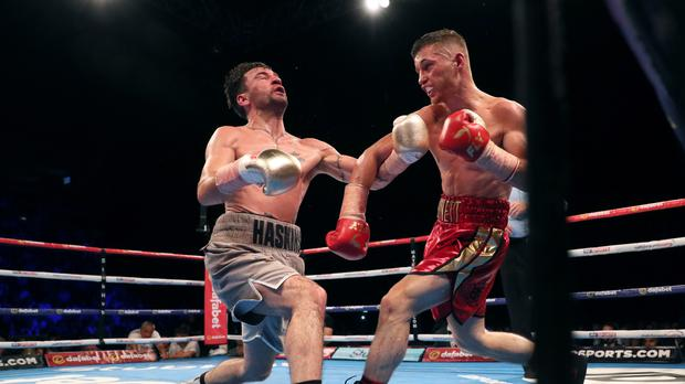 Ryan Burnett, right, excelled when winning the IBF bantamweight title against Lee Haskins