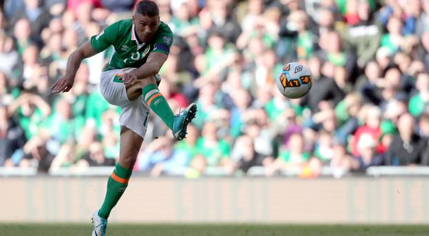 Jonathan Walters was on target to clinch Republic of Ireland a 1-1 draw with Austria