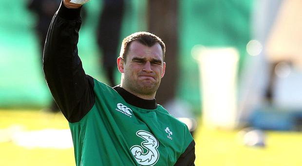 Rhys Ruddock and Ireland are preparing to face Japan