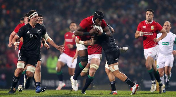Lions outmuscle Maori to register morale-boosting win ...