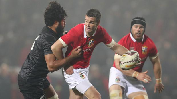 Johnny Sexton, centre, is ready to partner Owen Farrell for the British and Irish Lions
