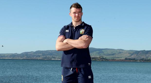 Peter O'Mahony has been endorsed as a potential British and Irish Lions Test match captain