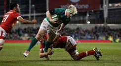 Ireland's James Tracy wants to become a regular